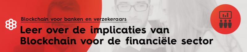 Blockchain voor banken en verzekeraars